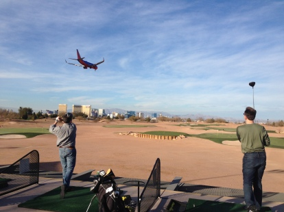 Vegas Golf  Plane